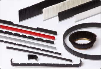 Gutmann customer-specific solutions of strip brushes and sealing brushes